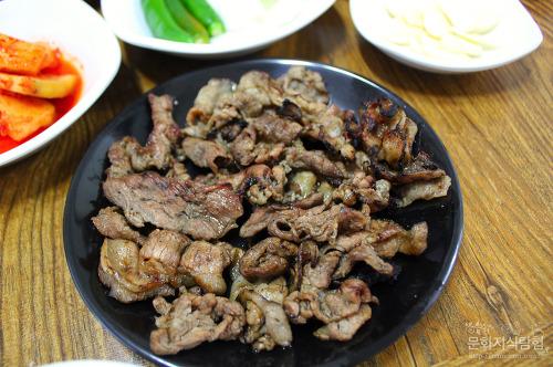 안동맛집 서부시장 옛날순대국밥 연탄석쇠불고기백반