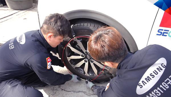 삼성 에스원 3119 구조대가 알려주는 <한파 특보 안전 백서 #2- 폭설 특보 발령 시 차량을 사용해야 한다면? >