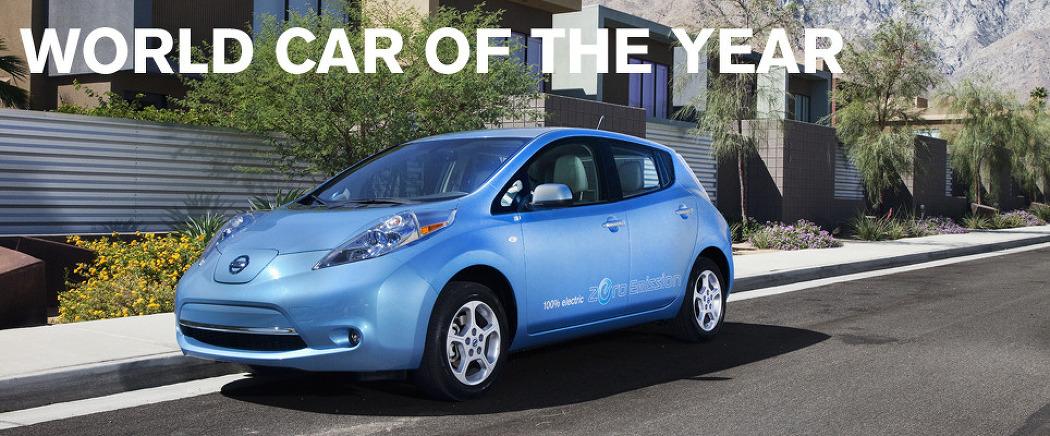 무공해 전기차 닛산 리프(Leaf) 2011 올해의 차로 선정