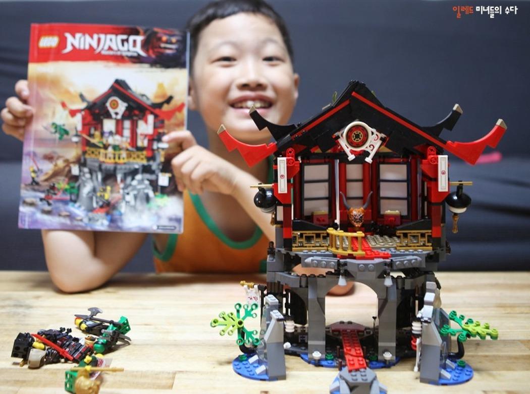 초등학교 3학년 남자아이 선물로 좋은 레고 닌자고 부활의 사원