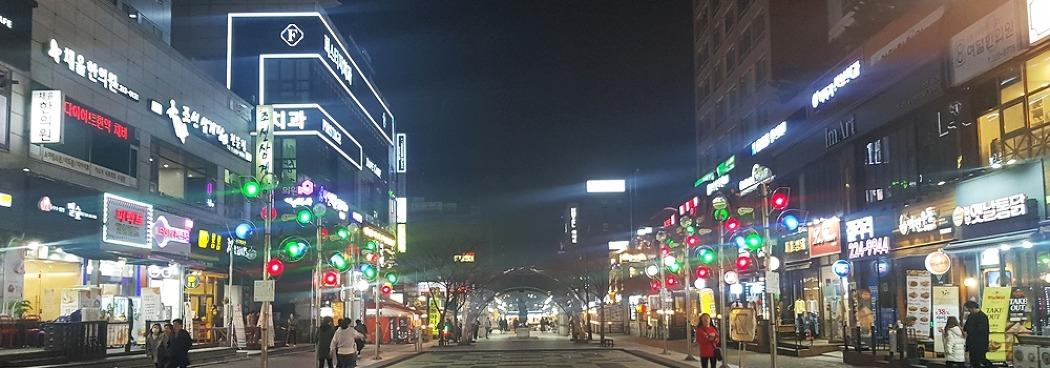 수원 문화예술의 중심, <나혜석 거리>