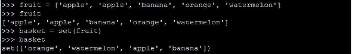 Python - 집합 (세트, Sets)