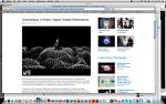 Cinématique: A Poetic, Digital Theatre Performance