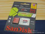 샌디스크 마이크로 SDXC 64GB 메모리카드(Sandisk micro SDXC Ultra CLASS10 64GB) 사용기