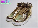"Nike Lunar Force 1 Hi SP ""Metallic Gold"" - IST Review | 나이키 루나 포스 1 하이 SP ""메탈릭 골드"" - 잇츠슈즈타임 리뷰"
