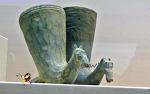 말모양뿔잔-5세기 유물