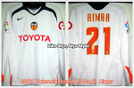 05/06 Valencia Home L/S No.21 Aimar (SOLD OUT)