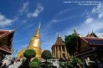 태국 여행 / 방콕 여행 / 에메랄드 사원 '왓 프라깨오' 돌아보기 2 - 에메랄드 불상, 봇, 체디