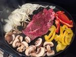 큰 프라이팬 하나로 완성하는 멕시칸 요리- 비프 화이타 beef fajita