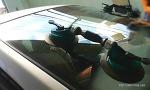 자동차 앞유리 교체기