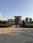 가을 늦은 오후의 장미 광장 (송파구 올림픽 공원)