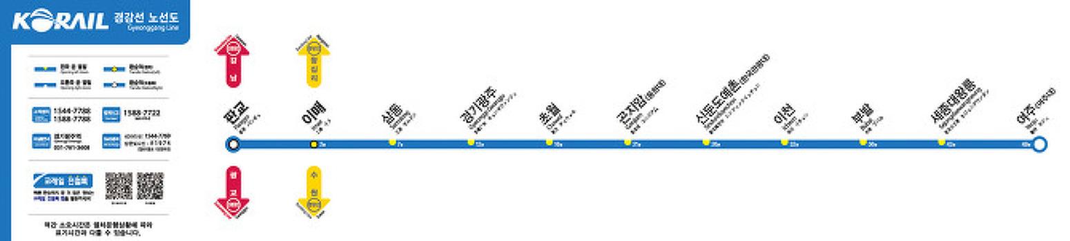[국토교통부] 성남 광주 이천 여주간 복선전철 '경강선', 2016 9월 24일부터 운행 시작