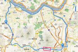 100km 자전거 일주(광명-성남-여의도-광명)