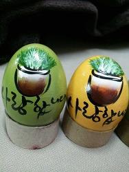 앵그리버드를 부활달걀로??