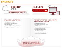 Endnote 무료버전 Endnote Basic 출시
