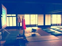 일본 미술관에서 한복입고 강좌하기