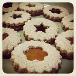 Baking Time - Linzer Cookies