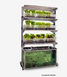 생명의 순환고리를 맞춘 친환경 식물 재배기