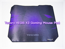 [마우스패드] 제닉스 TESORO AEGIS X3 Gaming Mouse Pad