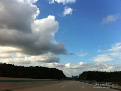아이폰 사용기 - 아이폰으로 촬영한 풍경사진 (태화강 일몰)