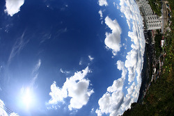 8월9일 서울의 하늘....