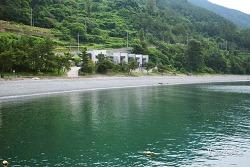 남해여행] 사그락 파도소리가 예쁜 남해 몽돌해변