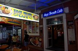 케언즈 Hog's breath cafe 스테이크