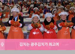 [이슈]김치는 광주김치가 최고여 - 수도권 향우 130명 광주김장대전서 직접 김장