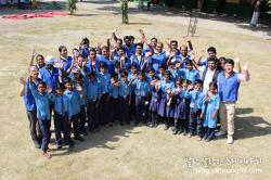 인도 어린이에게 꿈과 희망을~!!