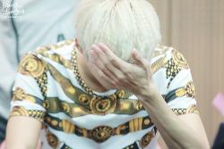 130908 4th mini Album 장난아냐 일산 팬사인회 : 우울했던 날 햇살같은 찬희♥