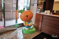 대만 위치가 좋은 중산 오렌지 포르테 린센 호텔