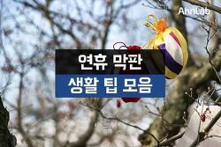 [안랩 카드뉴스]연휴 막판 생활 팁 모음