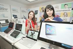 HP 파빌리온 x360의 매력, 신제품 발표회에서 뽐내다