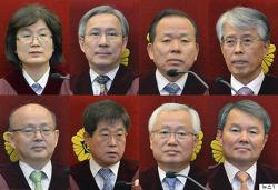 대한민국 헌정사상 최초 '대통령 탄핵'을 결정한 헌법재판소의 선고문