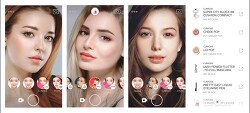 라인, 뷰티 카메라앱 룩스 출시. 여성 메이크업 효과 확인 및 제품 선택 쉬워져