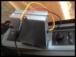 자동차 배터리 24v를 12v로 다운시켜 차량용품 사용하기