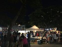 괌의 차모르야시장