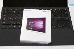 윈도우10 Pro 구매 후기 구성품 살펴보기