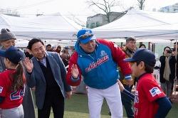 양준혁과 함께한 스윙스 야구단의 <Spring camp>