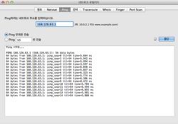 Mac OS 기초 강좌 #21 : 맥(Mac)에서 핑(Ping) 테스트 하기