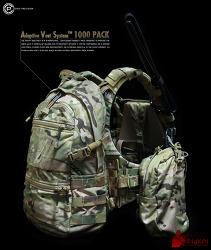 [백팩] Crye Precision AVS™ 1000 PACK setting photo.