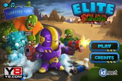 """좀비 게임 디펜스 """"Elite Squad"""""""