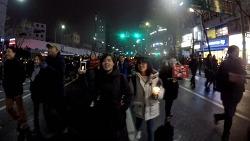 2016.11.26 촛불집회_청와대행진중