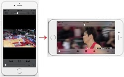 VideoPlayerRotatable - 아이폰으로 동영상 볼 때만 화면 회전잠금을 해제해주는 시디아 트윅 [iOS9 호환]