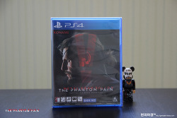 PS4 메탈기어솔리드5 팬텀페인 오픈케이스