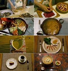 음식영화 모음 - 달팽이식당, 카모메식당, 하와이언 레시피, 스탠리의 도시락, 그린파파야향기