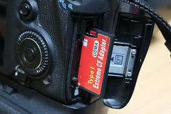 SD to CF 컨버터 Coms 메모리 IT066 캐논 7D 사용기
