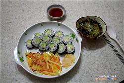 오이 초밥, 감자·고구마 튀김