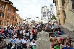 로마여행]스페인광장과 영화 로마의 휴일의 추억