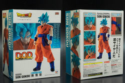 megahouse dimension of dragon ball z super saiyan god ss son goku / 메가하우스 d.o.d ssgss 손오공